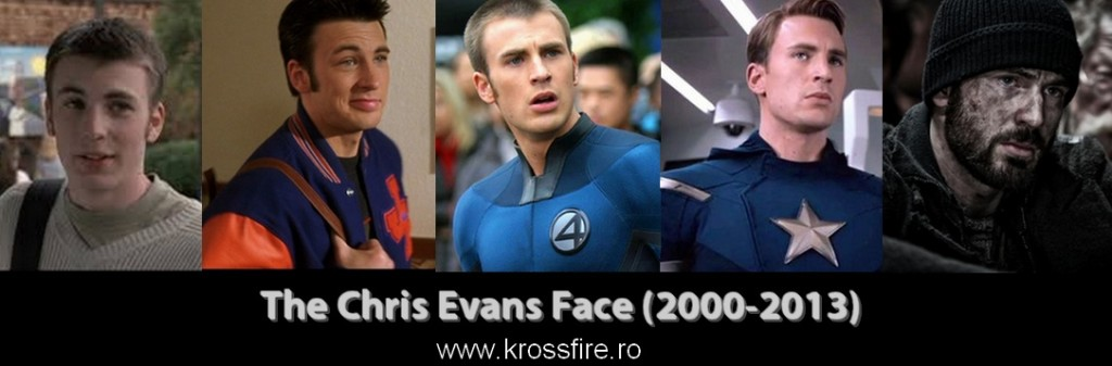 The Chris Evans Face