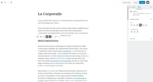"De la Blog la ""Bloc"" – Despre Interfața Gutenberg"